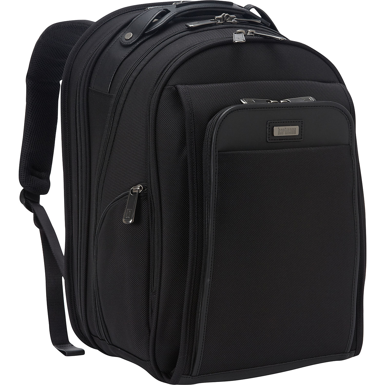 Hartmann Luggage Three Compartment Business Backpack