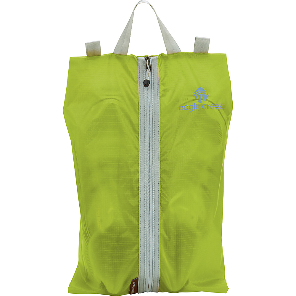 Eagle Creek Pack-It Specter Shoe Sac Strobe Green - Eagle Creek Lightweight packable expandable bags