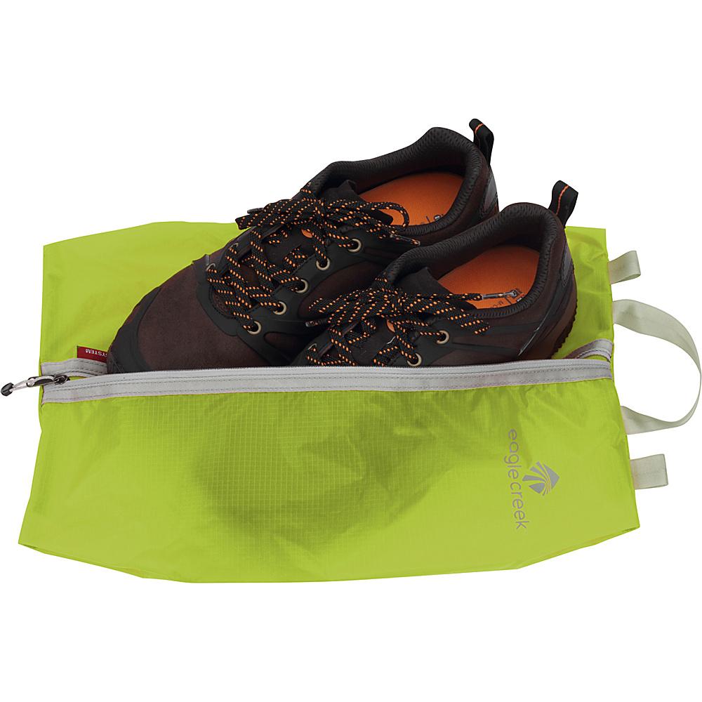 Eagle Creek Pack-It Specter Shoe Sac Strobe Green - Eagle Creek Lightweight Packable Expandable Bags