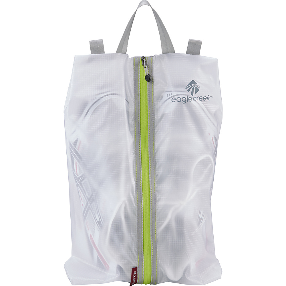 Eagle Creek Pack-It Specter Shoe Sac White/Strobe - Eagle Creek Packable Bags - Travel Accessories, Packable Bags