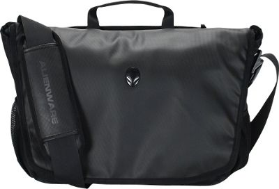 Mobile Edge Alienware Vindicator Messenger Bag - 14 inch/17 inch Black - Mobile Edge Messenger Bags