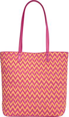 Vera Bradley Day Tote Ziggy Zags - Vera Bradley Fabric Handbags
