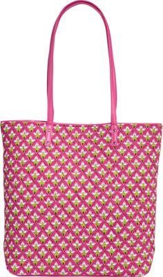 Vera Bradley Day Tote Petite Pink - Vera Bradley Fabric Handbags