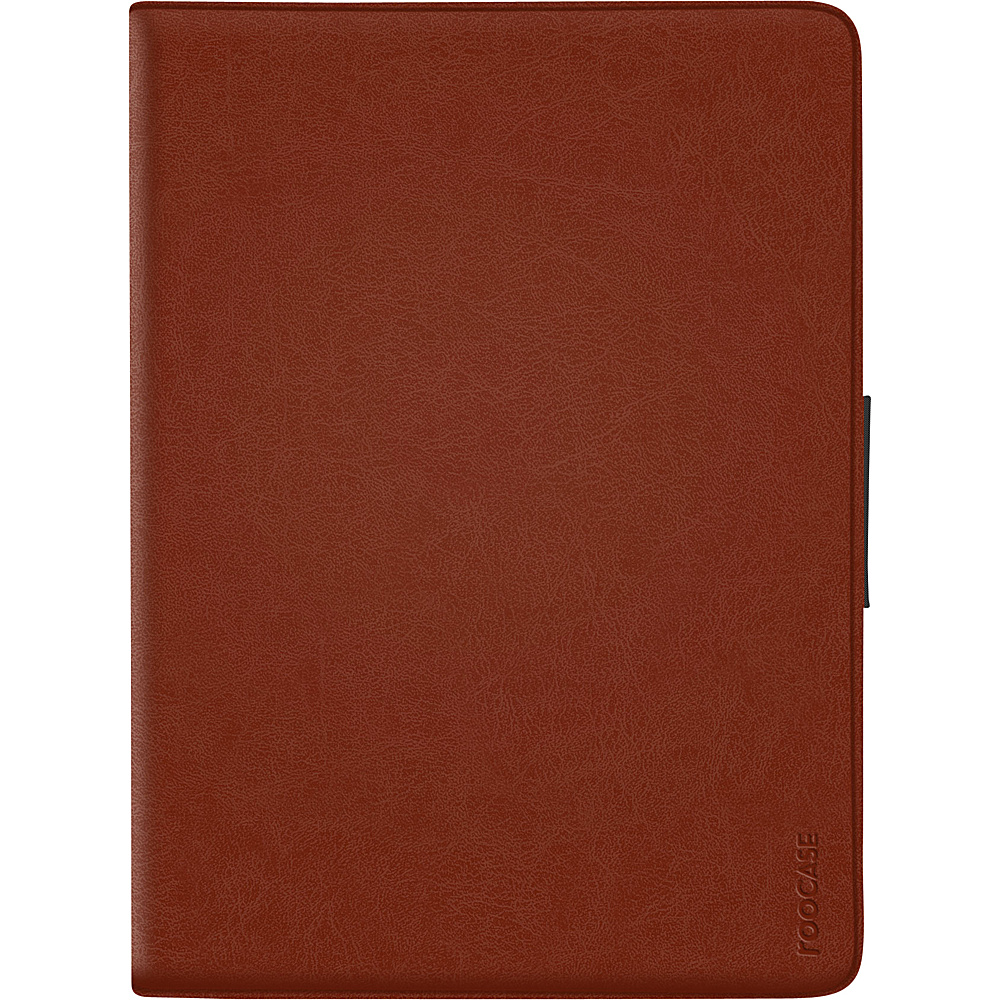 rooCASE Rotating 360 Dual-View Folio Case for iPad Air 1 & 2 Brown - rooCASE Electronic Cases
