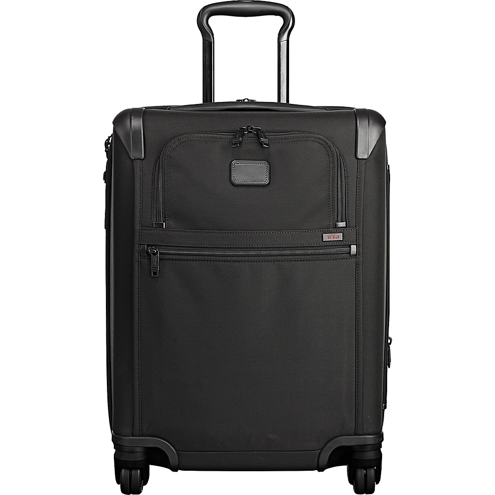 Tumi Alpha 2 Continental Expandable 4 Wheeled Carry-On Black - Tumi Softside Carry-On