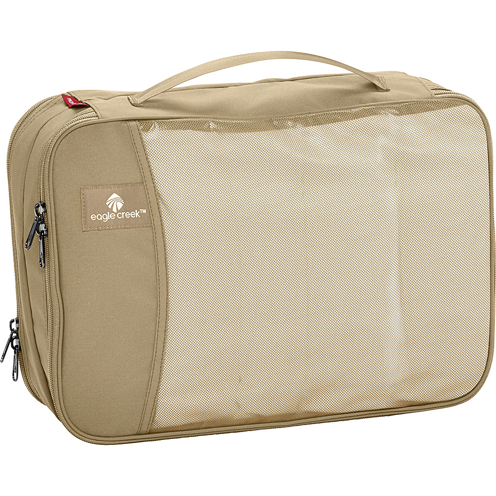 Eagle Creek Pack-It Clean Dirty Cube Tan - Eagle Creek Travel Organizers - Travel Accessories, Travel Organizers
