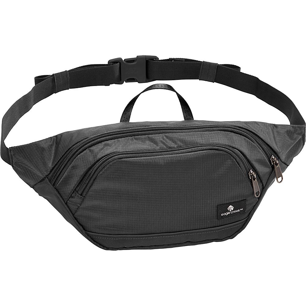 Eagle Creek Tailfeather Small Waist Pack Black - Eagle Creek Designer Handbags - Handbags, Designer Handbags