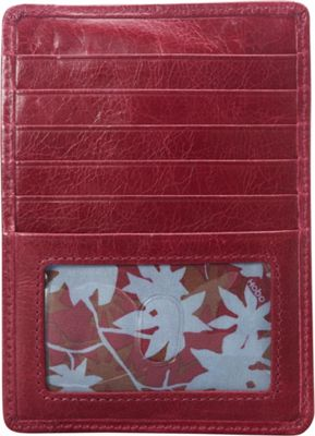 Hobo Euro Slide Wallet Merlot - Hobo Ladies Small Wallets