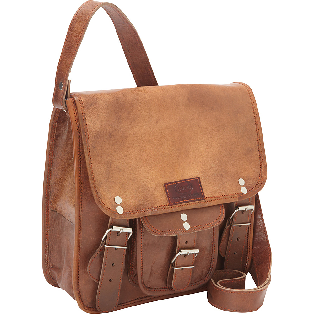 Sharo Leather Bags Small Cross Body Messenger Bag Brown Sharo Leather Bags Leather Handbags