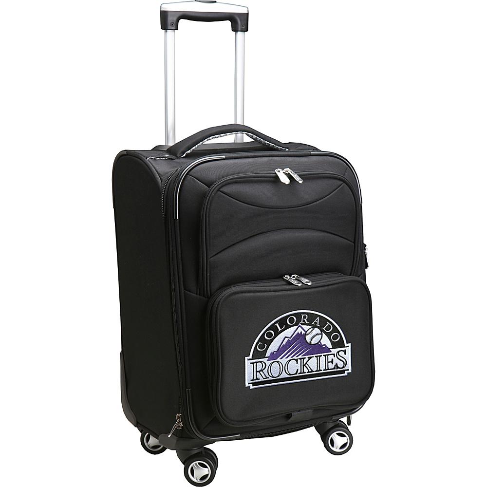 Denco Sports Luggage MLB 20 Domestic Carry-On Spinner Colorado Rockies - Denco Sports Luggage Softside Carry-On - Luggage, Softside Carry-On
