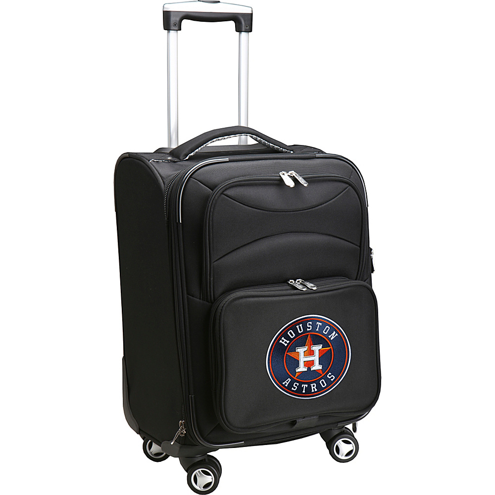 Denco Sports Luggage MLB 20 Domestic Carry-On Spinner Houston Astros - Denco Sports Luggage Softside Carry-On - Luggage, Softside Carry-On