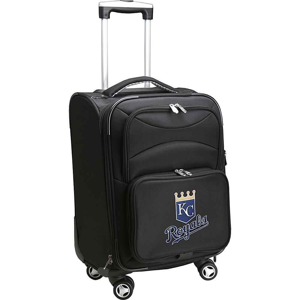 Denco Sports Luggage MLB 20 Domestic Carry-On Spinner Kansas City Royals - Denco Sports Luggage Softside Carry-On - Luggage, Softside Carry-On