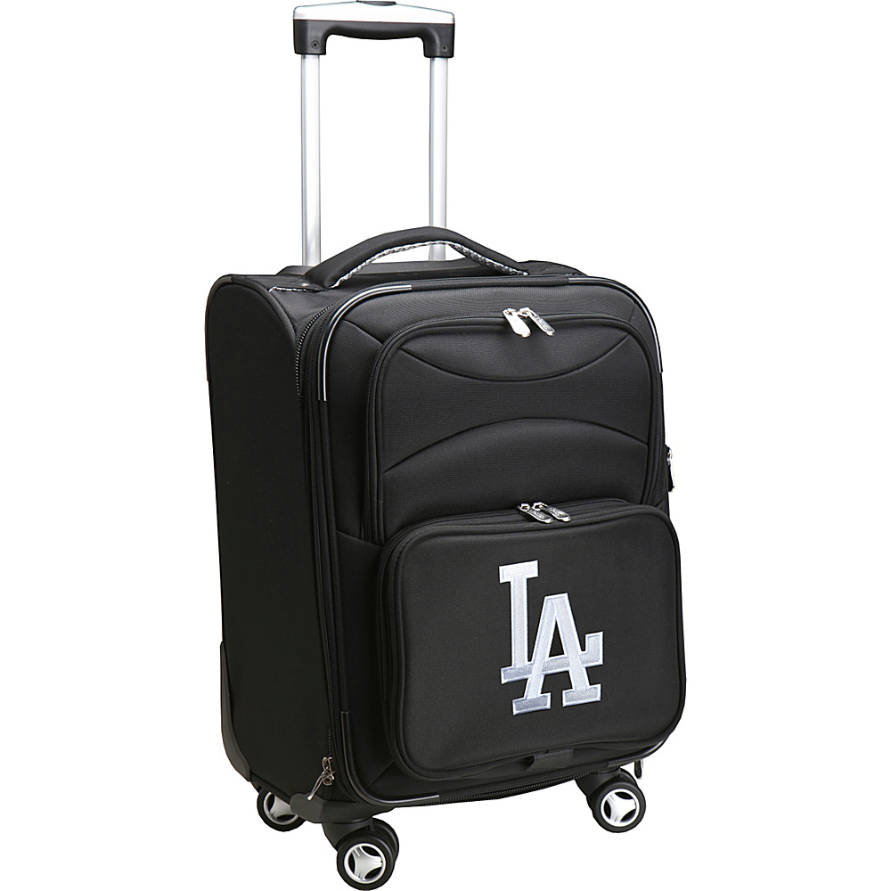 Denco Sports Luggage MLB 20 Domestic Carry-On Spinner Los Angeles Dodgers - Denco Sports Luggage Softside Carry-On - Luggage, Softside Carry-On