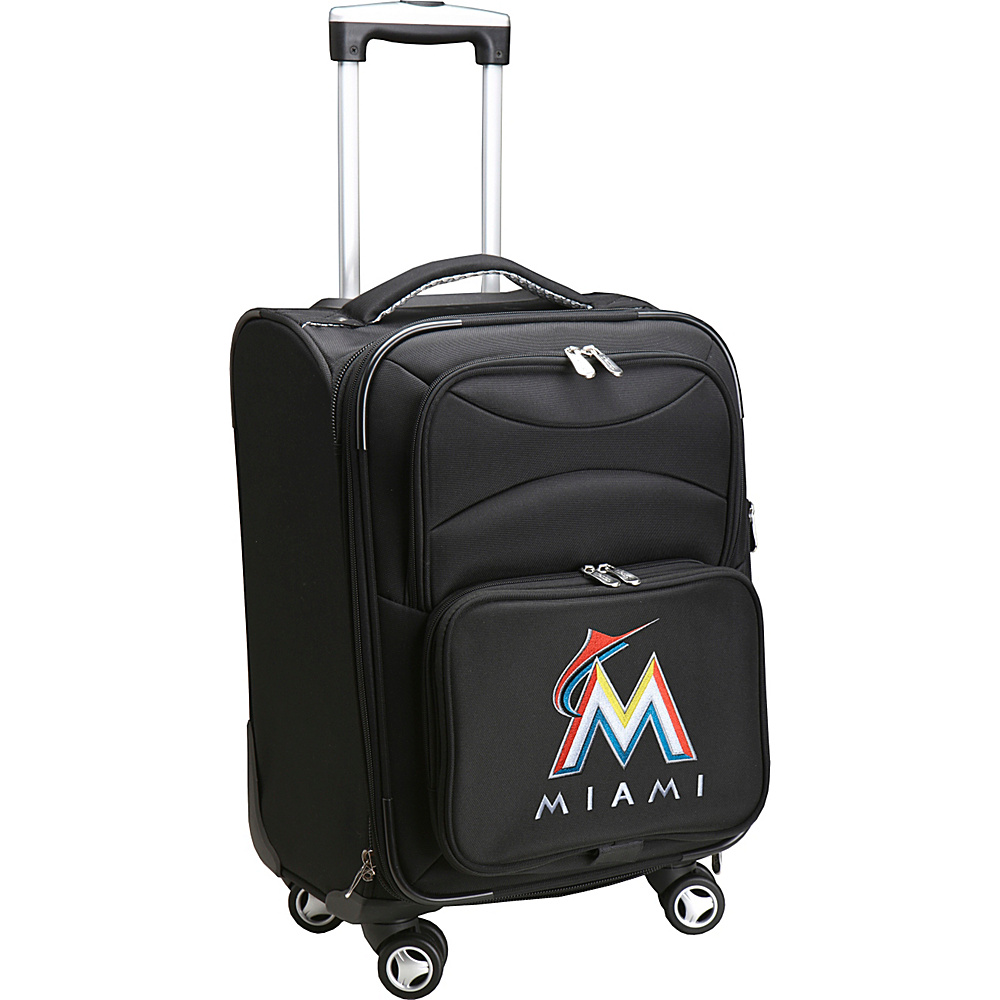 Denco Sports Luggage MLB 20 Domestic Carry-On Spinner Miami Marlins - Denco Sports Luggage Softside Carry-On - Luggage, Softside Carry-On
