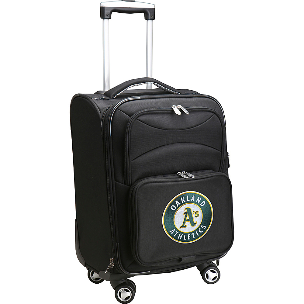 Denco Sports Luggage MLB 20 Domestic Carry-On Spinner Oakland As - Denco Sports Luggage Softside Carry-On - Luggage, Softside Carry-On