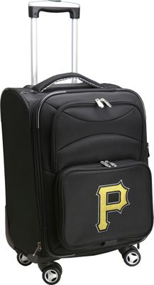 Denco Sports Luggage MLB 20 inch Domestic Carry-On Spinner Pittsburgh Pirates - Denco Sports Luggage Softside Carry-On