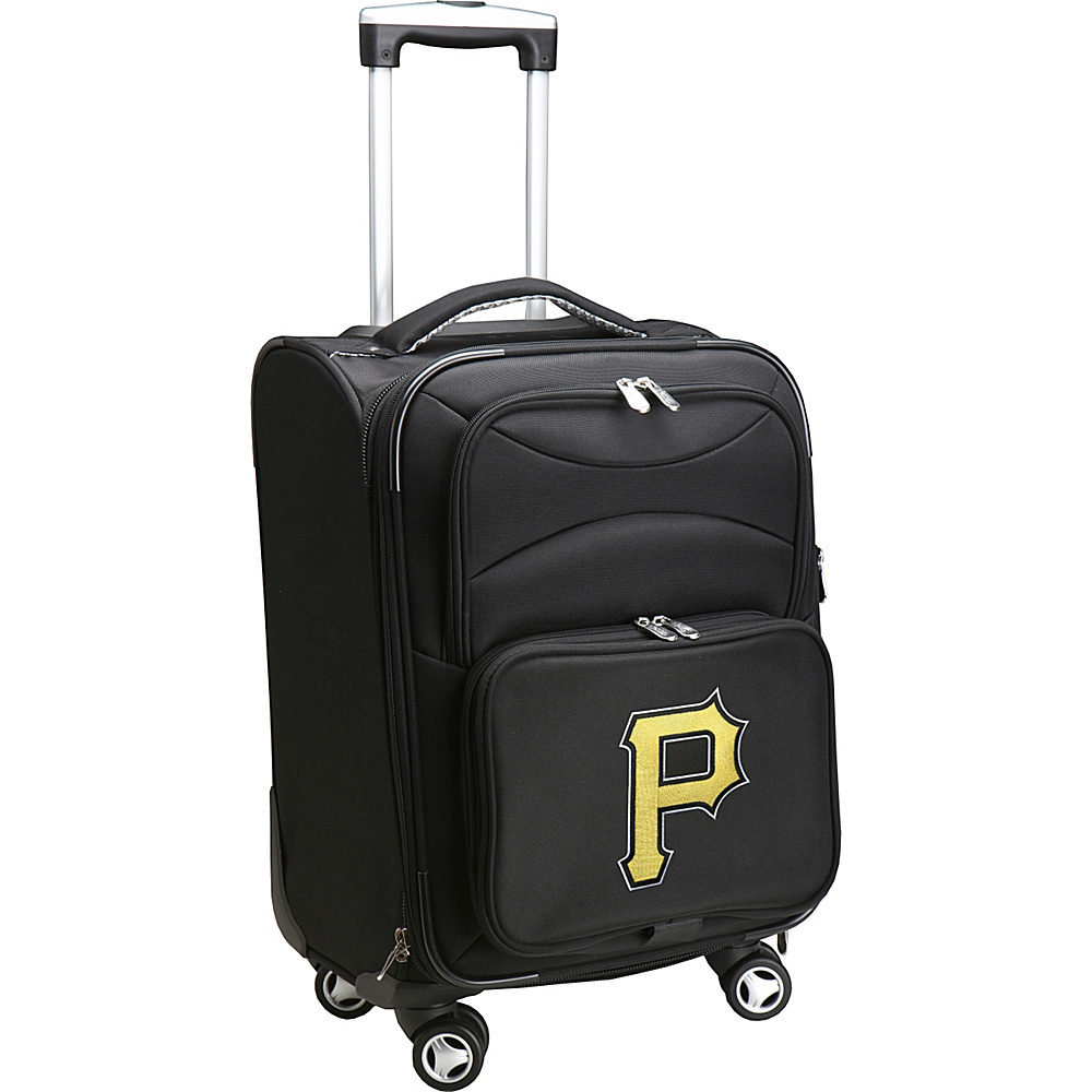 Denco Sports Luggage MLB 20 Domestic Carry-On Spinner Pittsburgh Pirates - Denco Sports Luggage Softside Carry-On - Luggage, Softside Carry-On