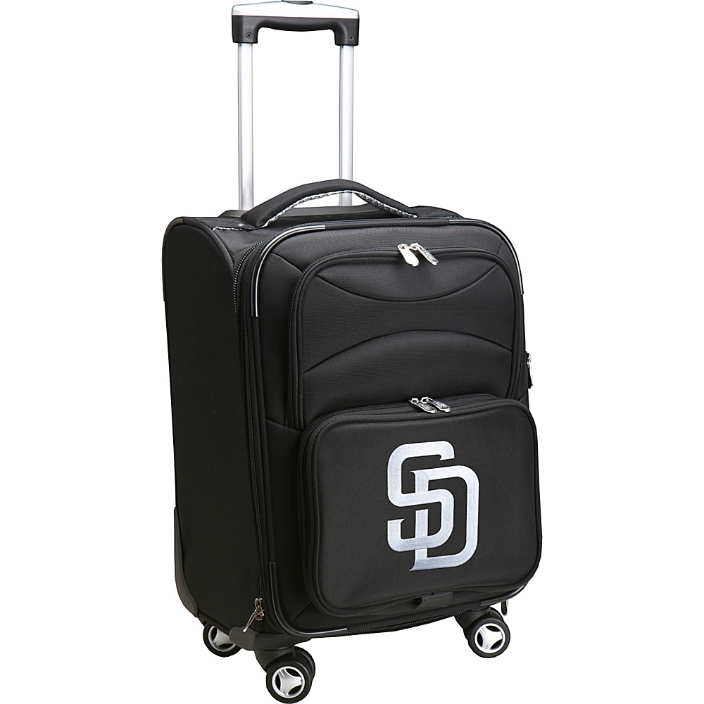 Denco Sports Luggage MLB 20 Domestic Carry-On Spinner San Diego Padres - Denco Sports Luggage Softside Carry-On - Luggage, Softside Carry-On