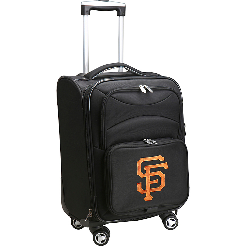 Denco Sports Luggage MLB 20 Domestic Carry-On Spinner San Francisco Giants - Denco Sports Luggage Softside Carry-On - Luggage, Softside Carry-On