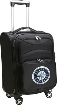 Denco Sports Luggage MLB 20 inch Domestic Carry-On Spinner Seattle Mariners - Denco Sports Luggage Softside Carry-On