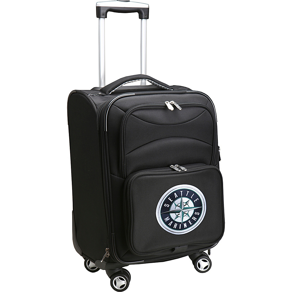 Denco Sports Luggage MLB 20 Domestic Carry-On Spinner Seattle Mariners - Denco Sports Luggage Softside Carry-On - Luggage, Softside Carry-On