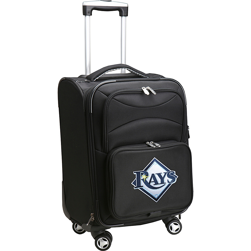 Denco Sports Luggage MLB 20 Domestic Carry-On Spinner Tampa Bay Rays - Denco Sports Luggage Softside Carry-On - Luggage, Softside Carry-On
