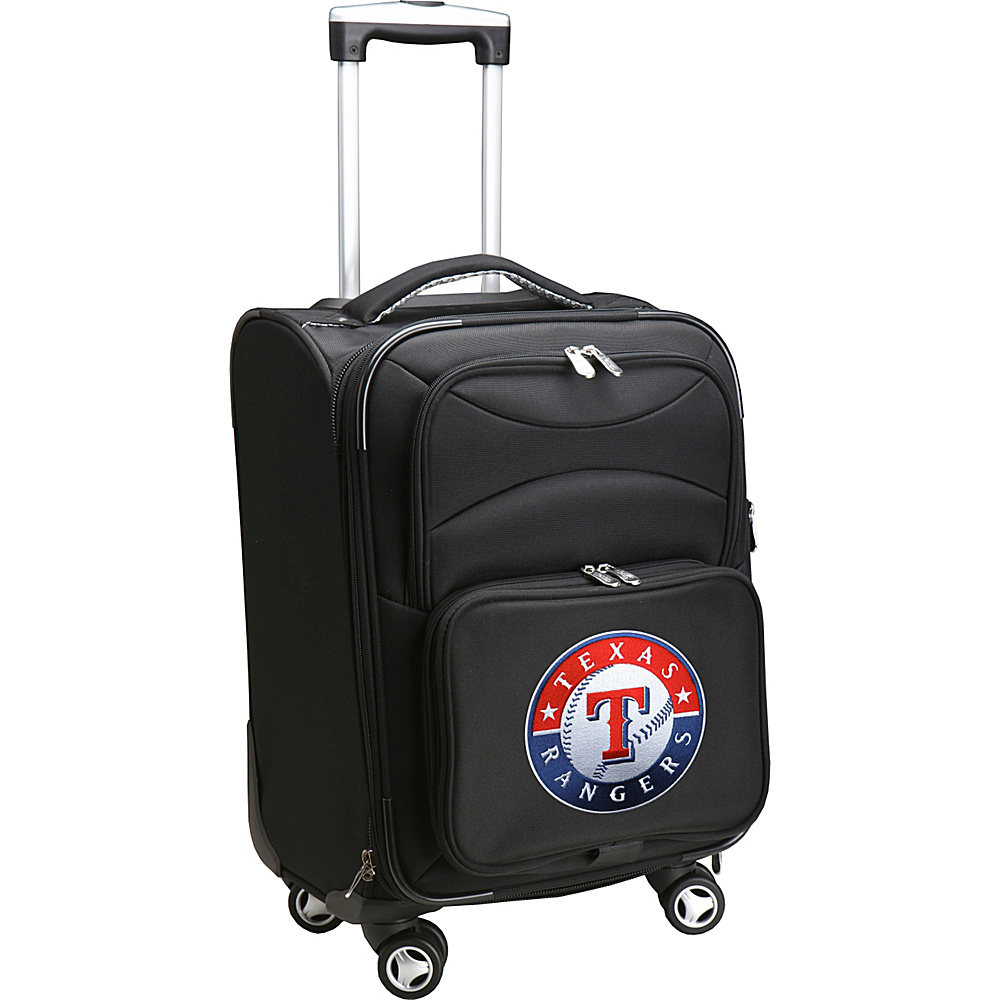 Denco Sports Luggage MLB 20 Domestic Carry-On Spinner Texas Rangers - Denco Sports Luggage Softside Carry-On - Luggage, Softside Carry-On