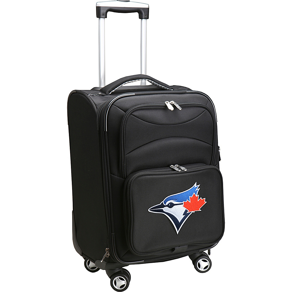 Denco Sports Luggage MLB 20 Domestic Carry-On Spinner Toronto Blue Jays - Denco Sports Luggage Softside Carry-On - Luggage, Softside Carry-On
