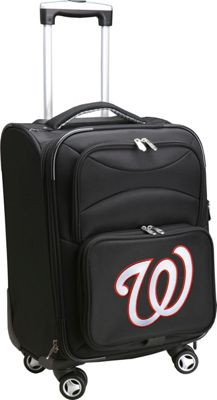 Denco Sports Luggage MLB 20 inch Domestic Carry-On Spinner Washington Nationals - Denco Sports Luggage Softside Carry-On