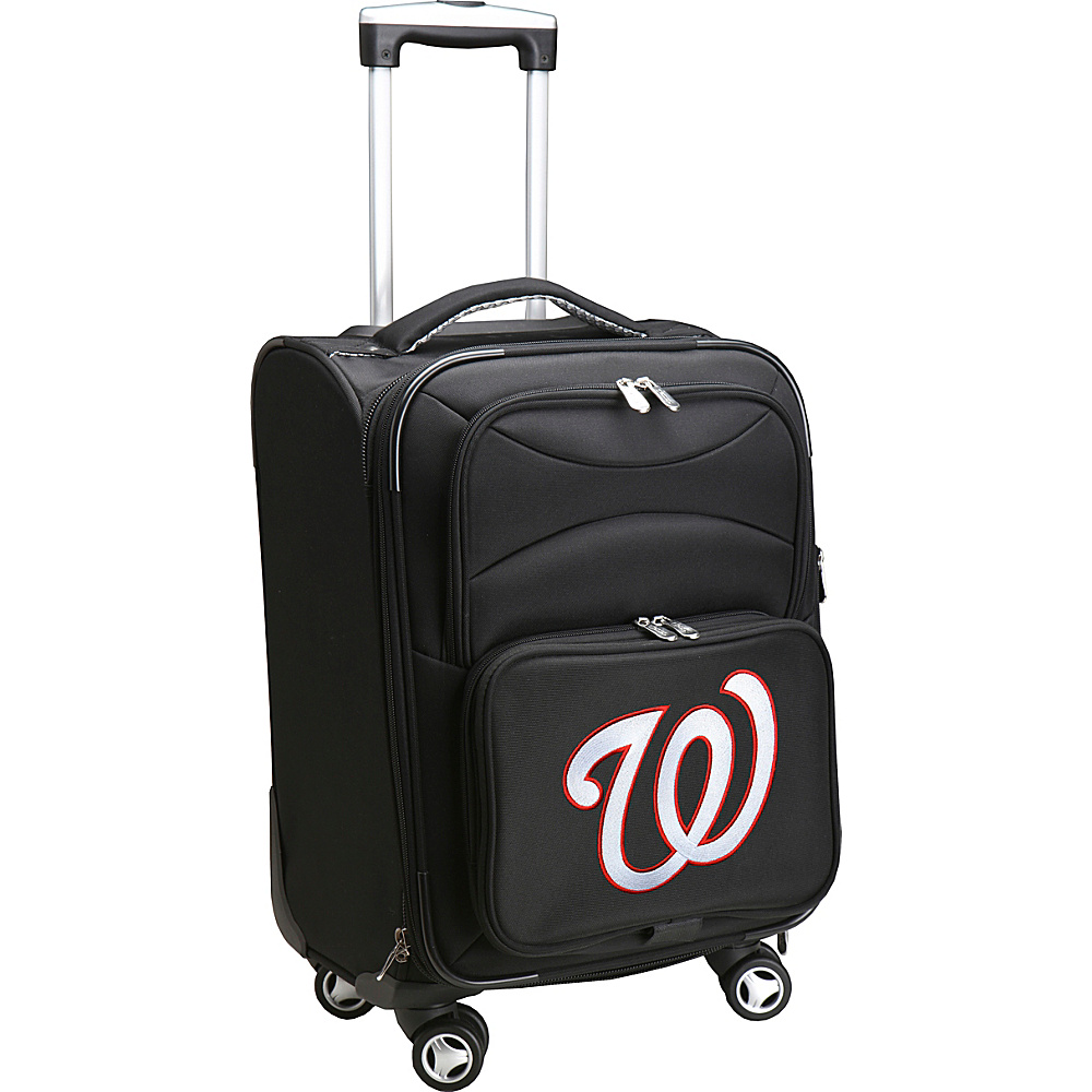 Denco Sports Luggage MLB 20 Domestic Carry-On Spinner Washington Nationals - Denco Sports Luggage Softside Carry-On - Luggage, Softside Carry-On