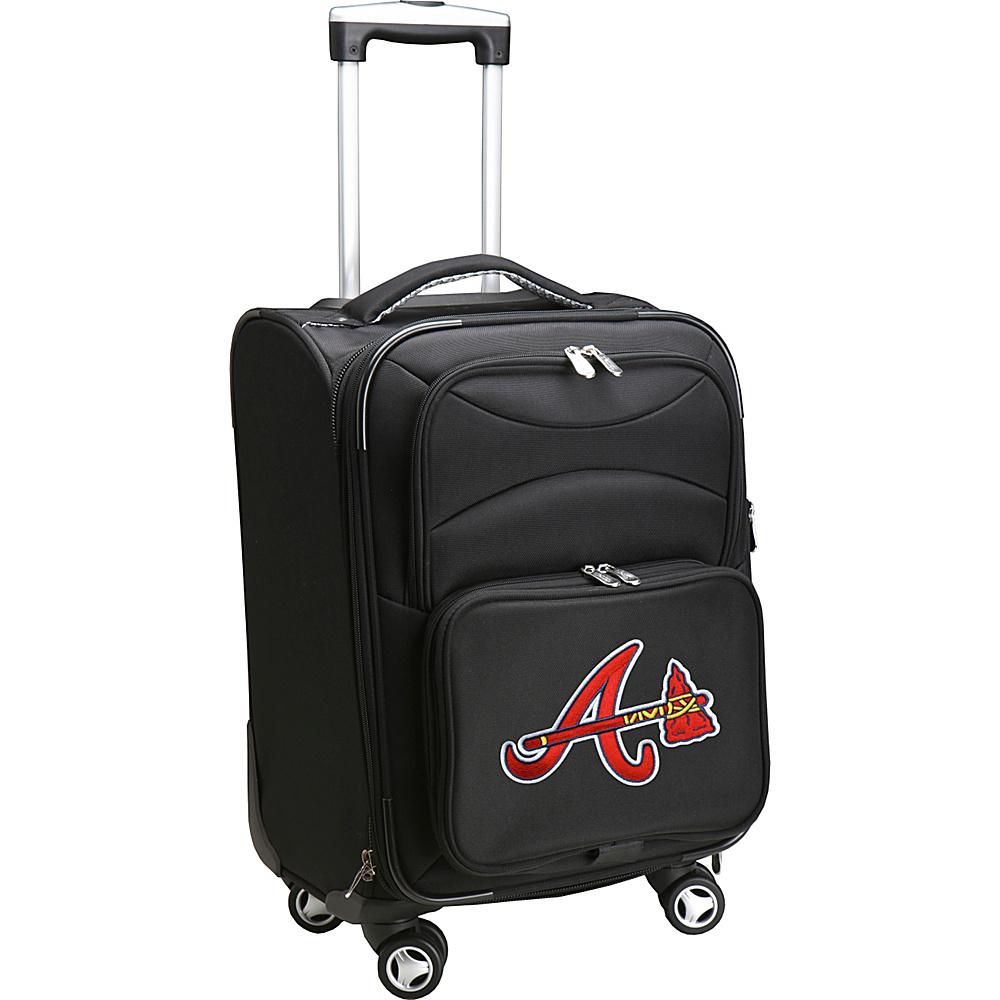 Denco Sports Luggage MLB 20 Domestic Carry-On Spinner Atlanta Braves - Denco Sports Luggage Softside Carry-On - Luggage, Softside Carry-On