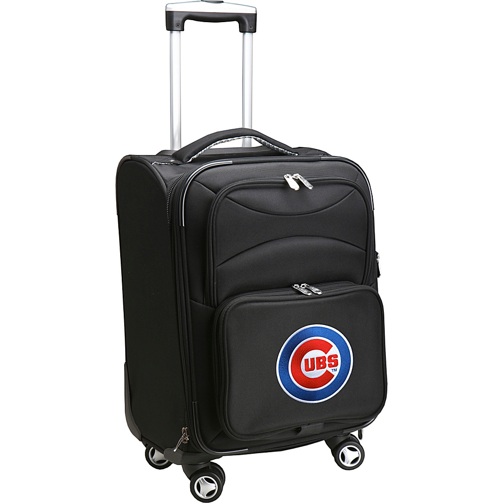 Denco Sports Luggage MLB 20 Domestic Carry-On Spinner Chicago Cubs - Denco Sports Luggage Softside Carry-On - Luggage, Softside Carry-On