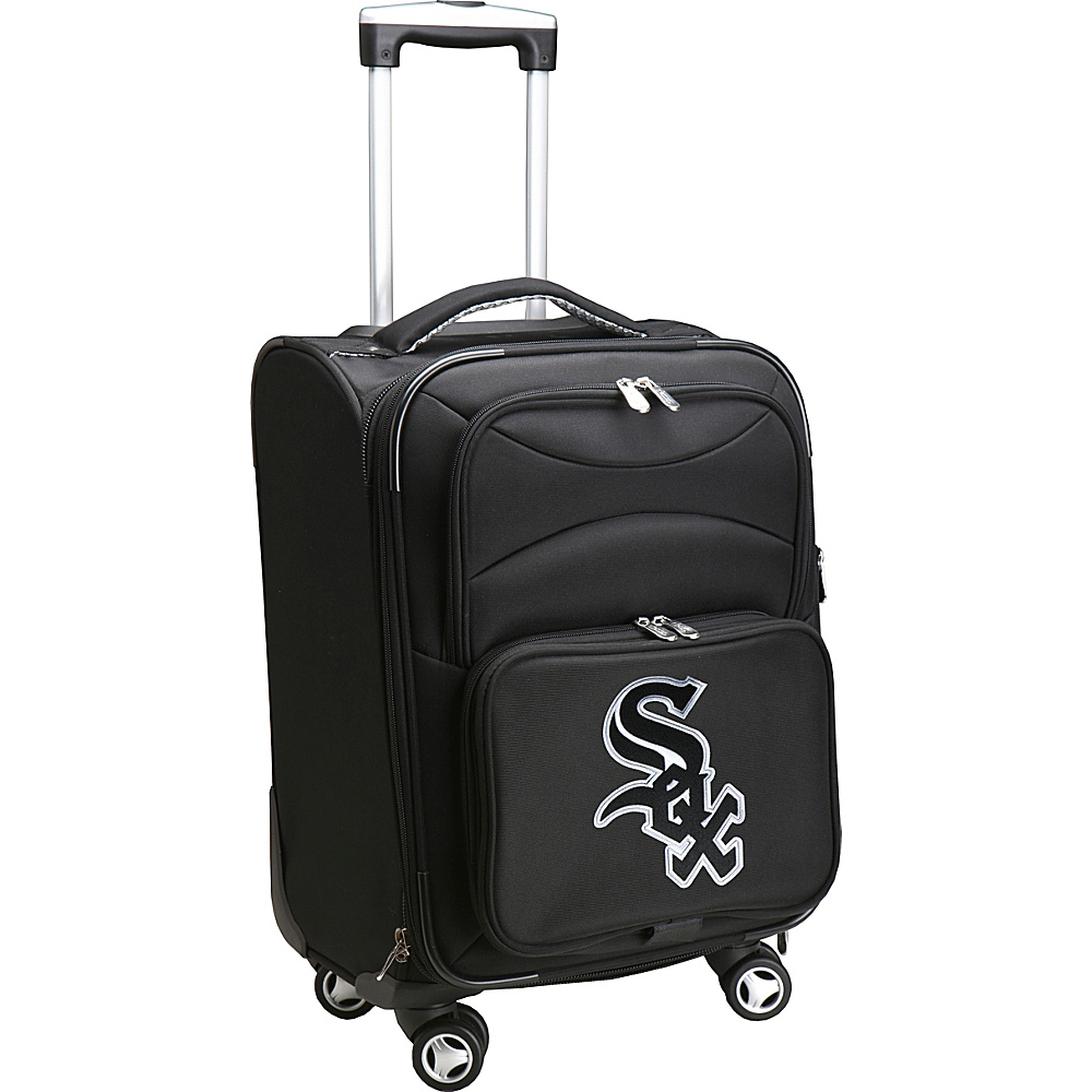 Denco Sports Luggage MLB 20 Domestic Carry-On Spinner Chicago White Sox - Denco Sports Luggage Softside Carry-On - Luggage, Softside Carry-On