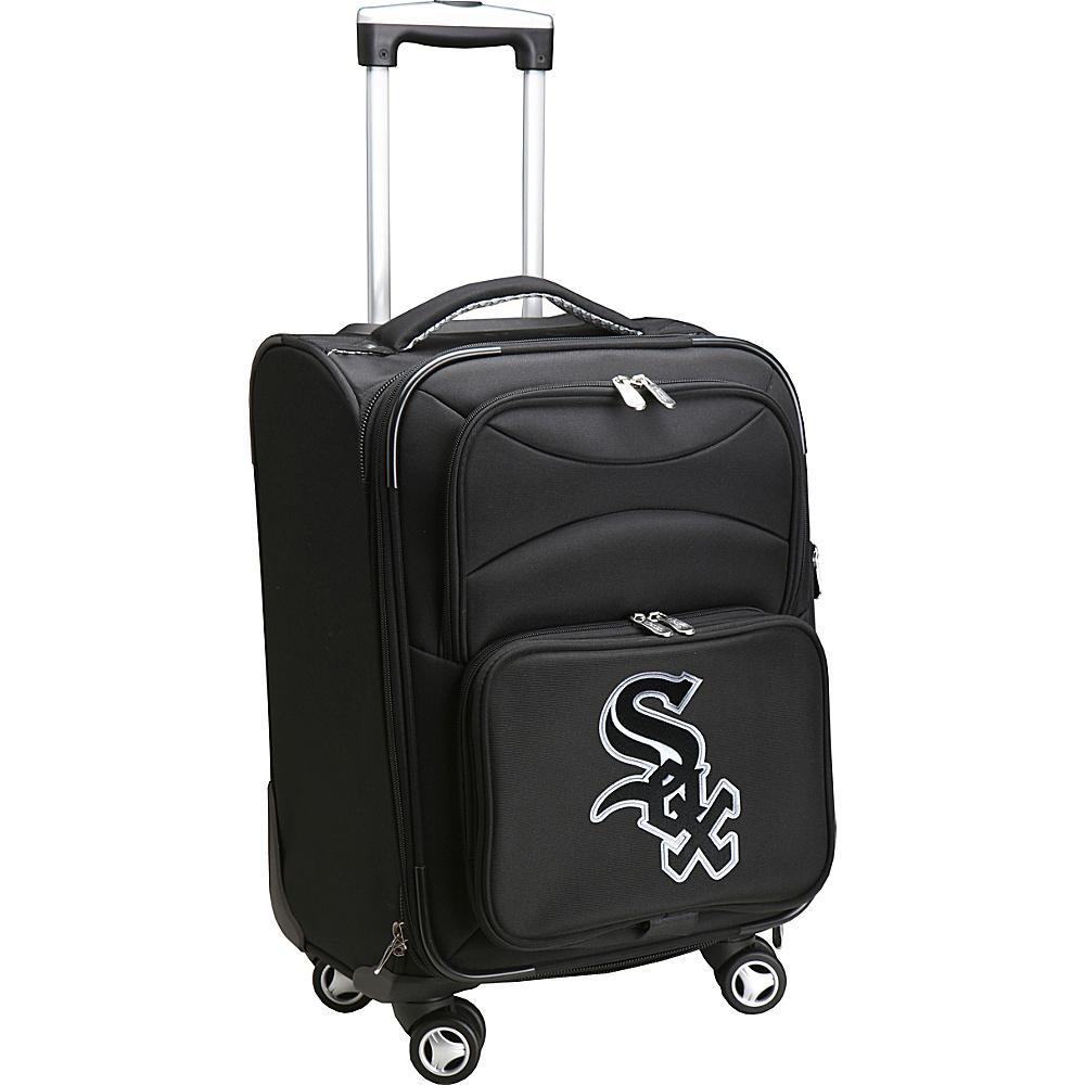 Denco Sports Luggage MLB 20 Domestic Carry-On Spinner Chicago White Sox - Denco Sports Luggage Softside Carry-On - Luggage, Softside Carry-On