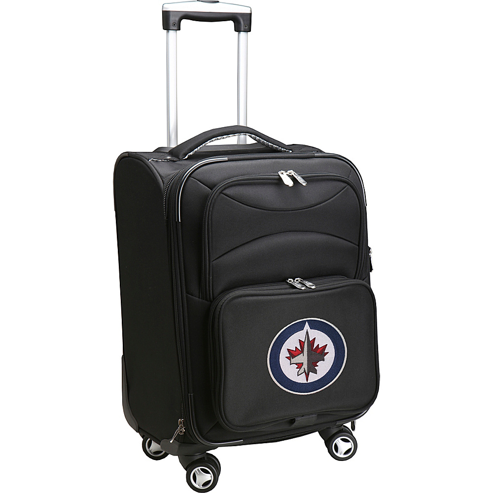 Denco Sports Luggage NHL Winnipeg Jets 20 Domestic Carry-On Spinner Winnipeg Jets - Denco Sports Luggage Softside Carry-On - Luggage, Softside Carry-On