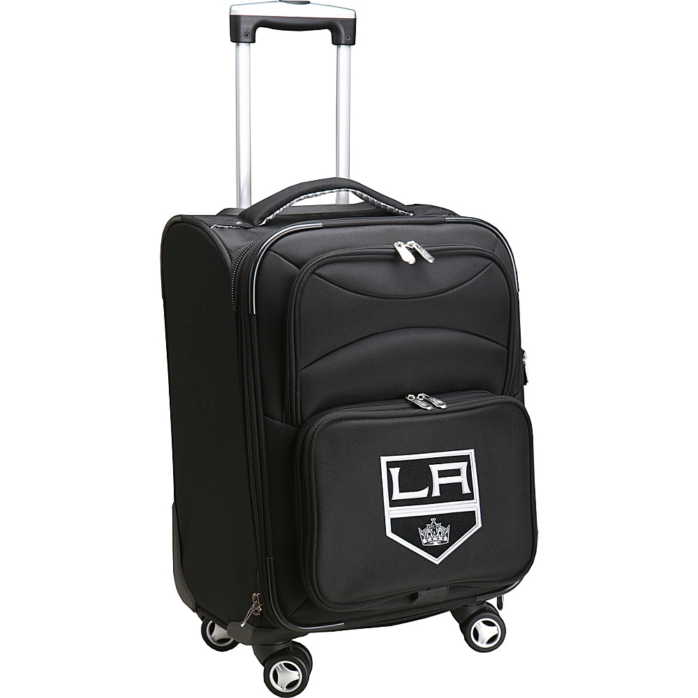 Denco Sports Luggage NHL 20 Domestic Carry-On Spinner Los Angeles Kings - Denco Sports Luggage Softside Carry-On - Luggage, Softside Carry-On