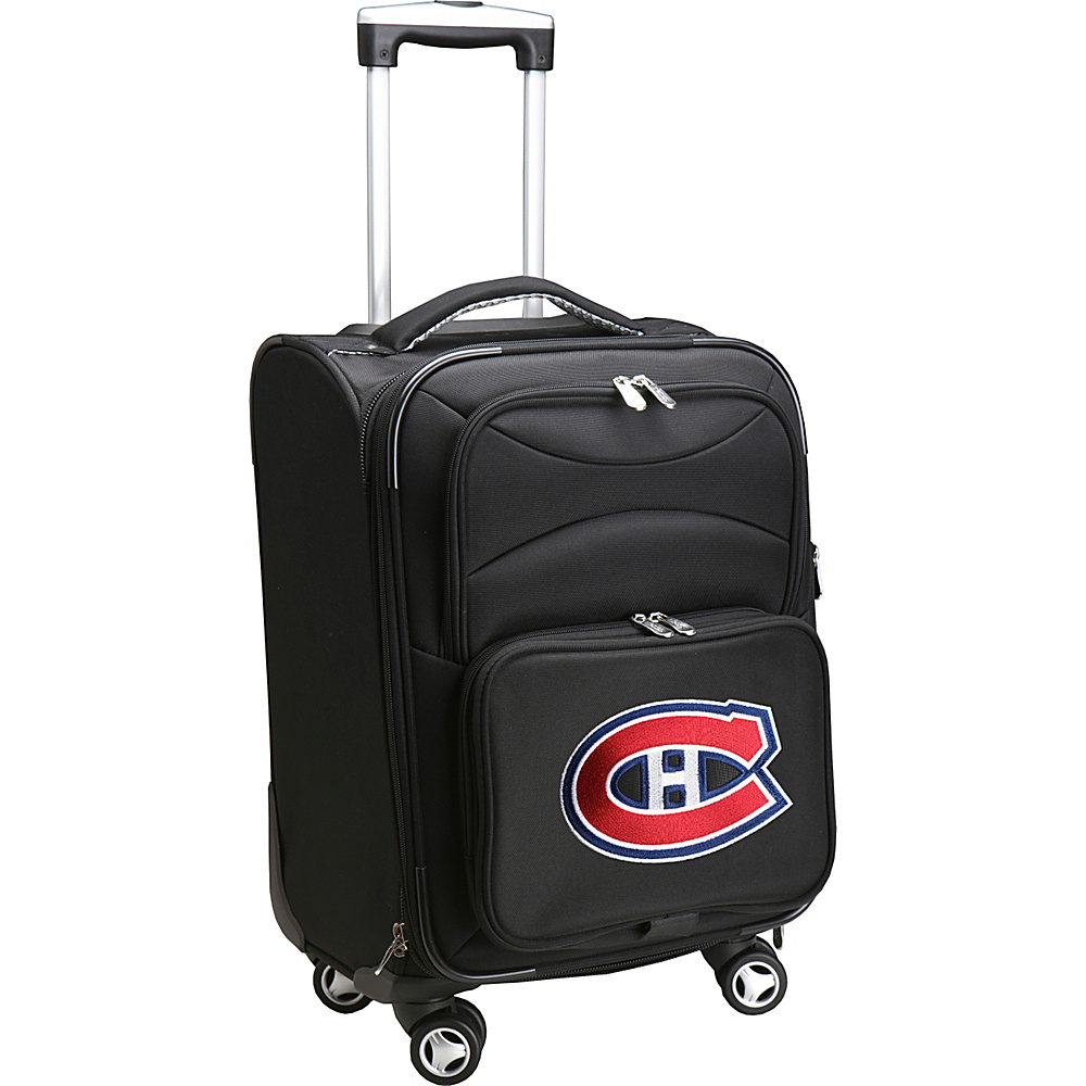 Denco Sports Luggage NHL 20 Domestic Carry-On Spinner Montreal Canadians - Denco Sports Luggage Softside Carry-On - Luggage, Softside Carry-On