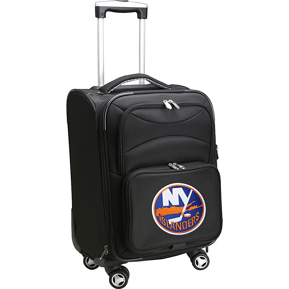 Denco Sports Luggage NHL 20 Domestic Carry-On Spinner New York Islanders - Denco Sports Luggage Softside Carry-On - Luggage, Softside Carry-On