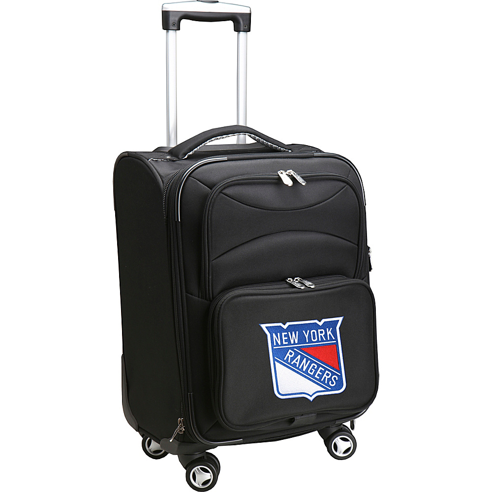 Denco Sports Luggage NHL 20 Domestic Carry-On Spinner New York Rangers - Denco Sports Luggage Softside Carry-On - Luggage, Softside Carry-On