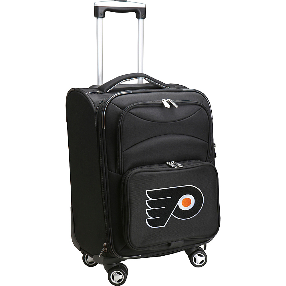 "Denco Sports Luggage NHL 20"" Domestic Carry-On Spinner Philadelphia Flyers - Denco Sports Luggage Softside Carry-On"