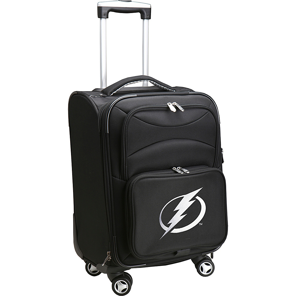 Denco Sports Luggage NHL 20 Domestic Carry-On Spinner Tampa Bay Lightning - Denco Sports Luggage Softside Carry-On - Luggage, Softside Carry-On