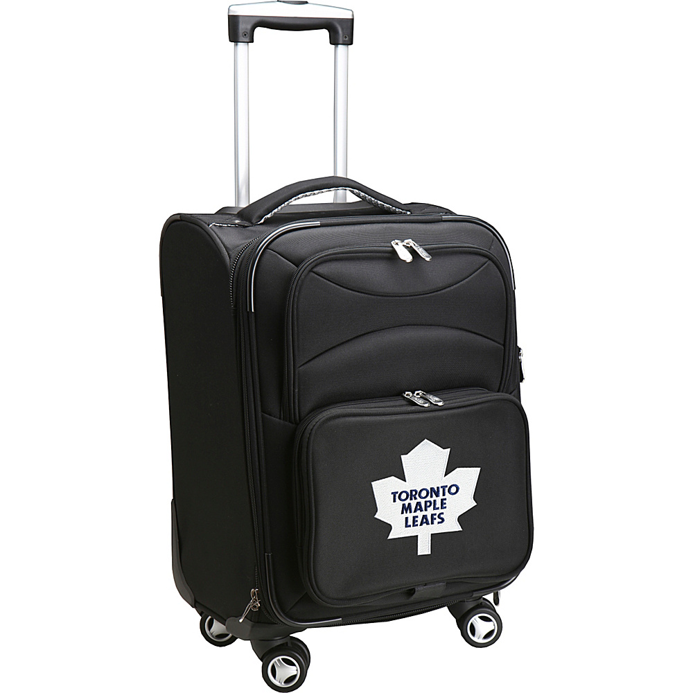 Denco Sports Luggage NHL 20 Domestic Carry-On Spinner Toronto Maple Leafs - Denco Sports Luggage Softside Carry-On - Luggage, Softside Carry-On