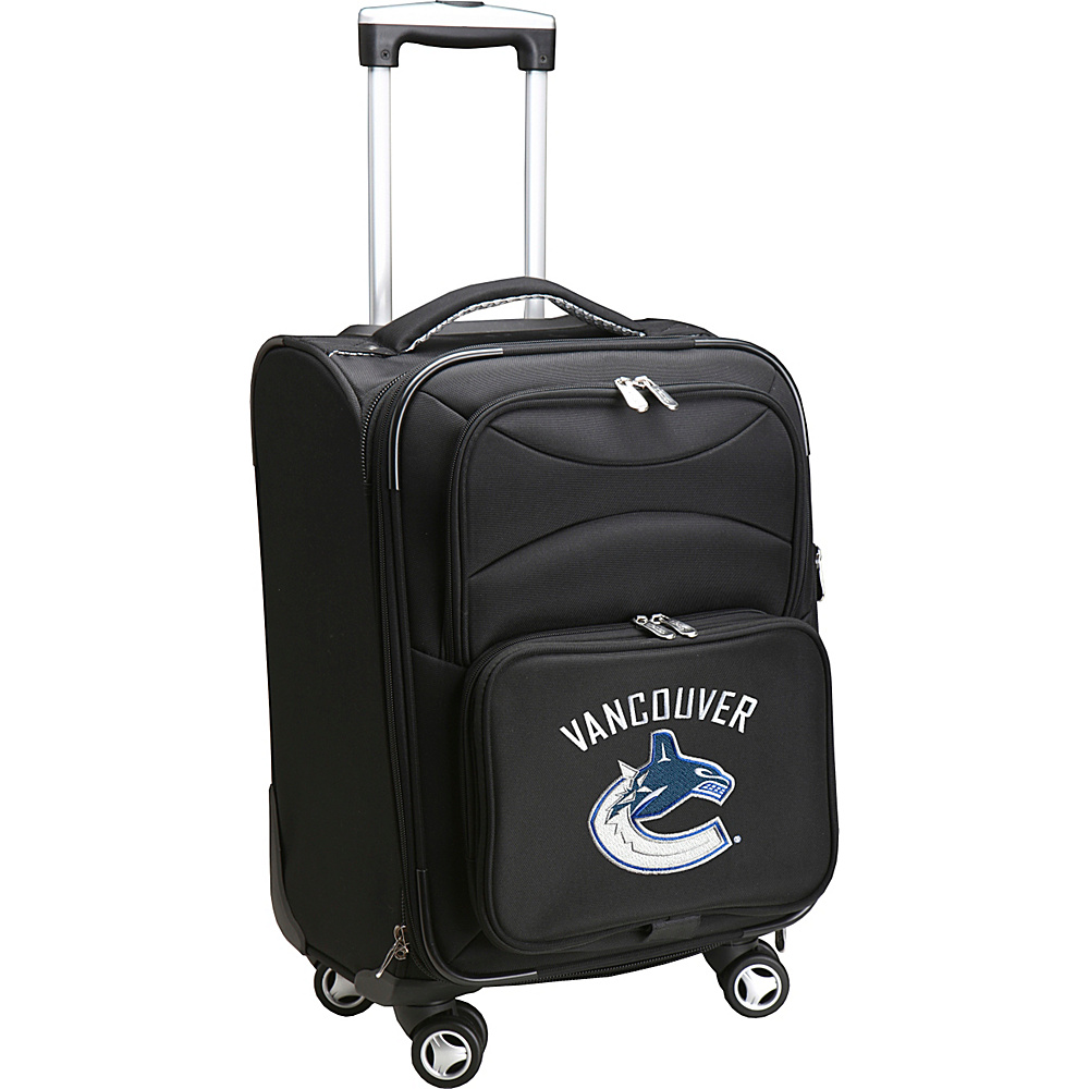 Denco Sports Luggage NHL 20 Domestic Carry-On Spinner Vancouver Canucks - Denco Sports Luggage Softside Carry-On - Luggage, Softside Carry-On