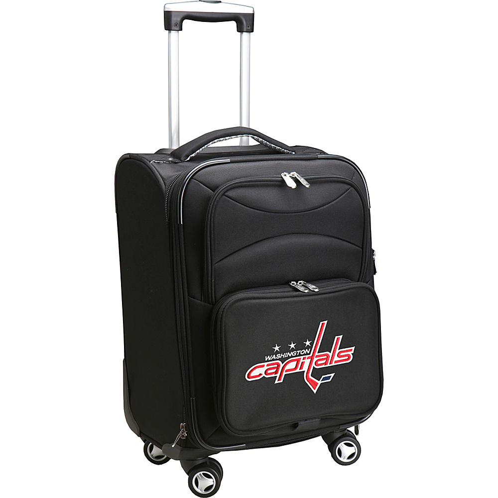 Denco Sports Luggage NHL 20 Domestic Carry-On Spinner Washington Capitals - Denco Sports Luggage Softside Carry-On - Luggage, Softside Carry-On