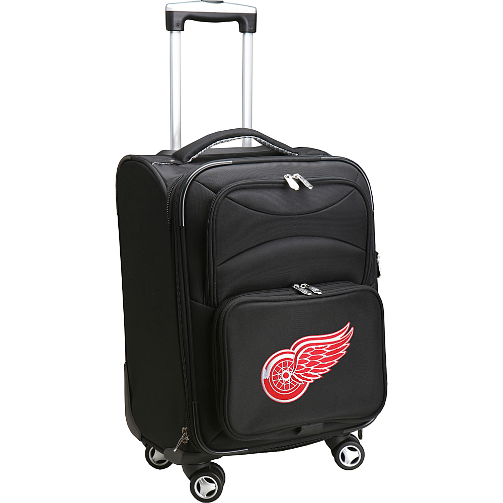 Denco Sports Luggage NHL 20 Domestic Carry-On Spinner Detroit Red Wings - Denco Sports Luggage Softside Carry-On - Luggage, Softside Carry-On