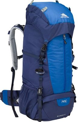 Details about High Sierra Summit 45 Backpacking Pack 3 Colors