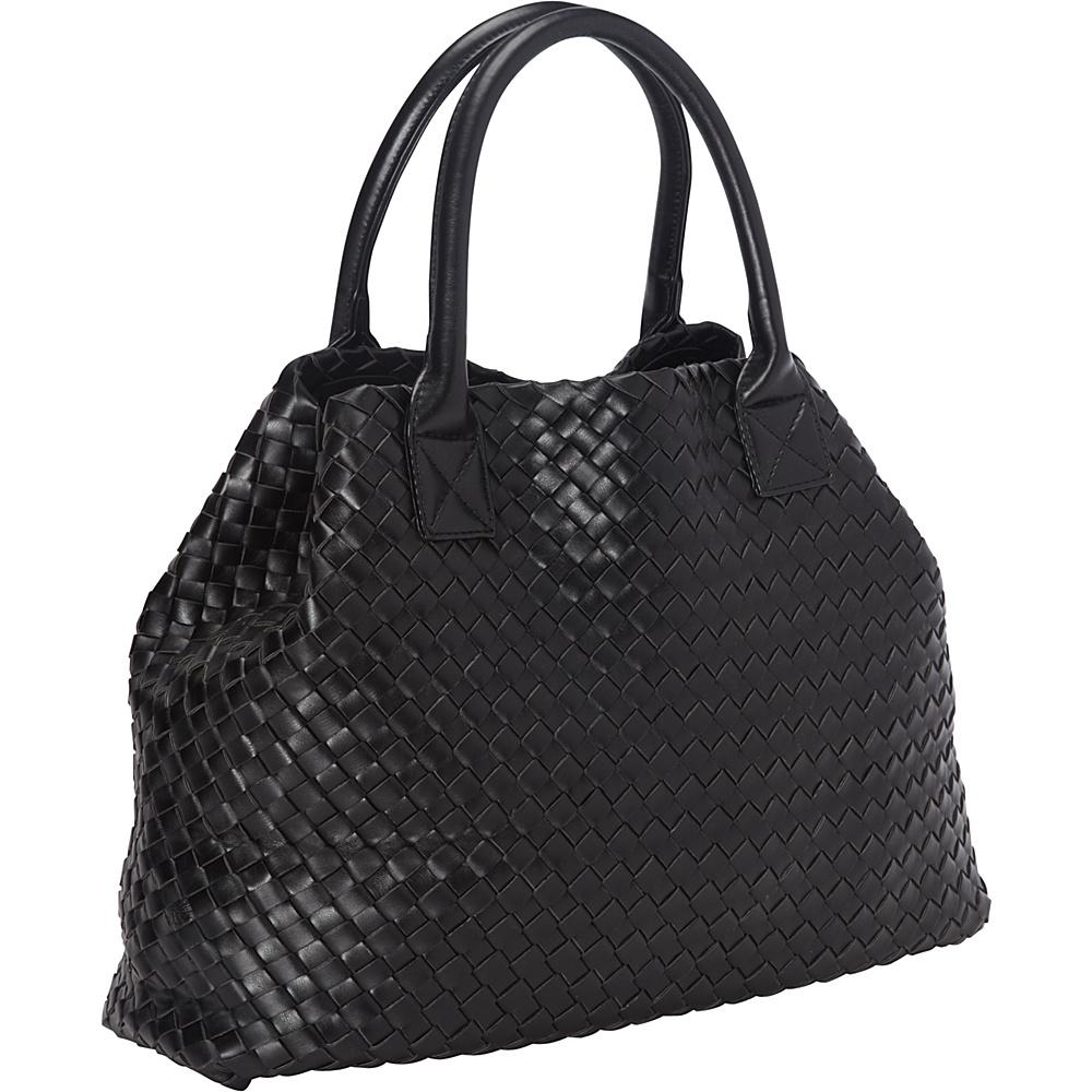 Ann Creek Pyramid Tote Black Ann Creek Manmade Handbags