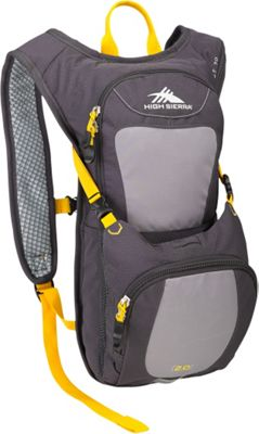 High Sierra Quickshot 70 Hydration Pack Mercury/Ash/Yell-O - High Sierra Hydration Packs and Bottles