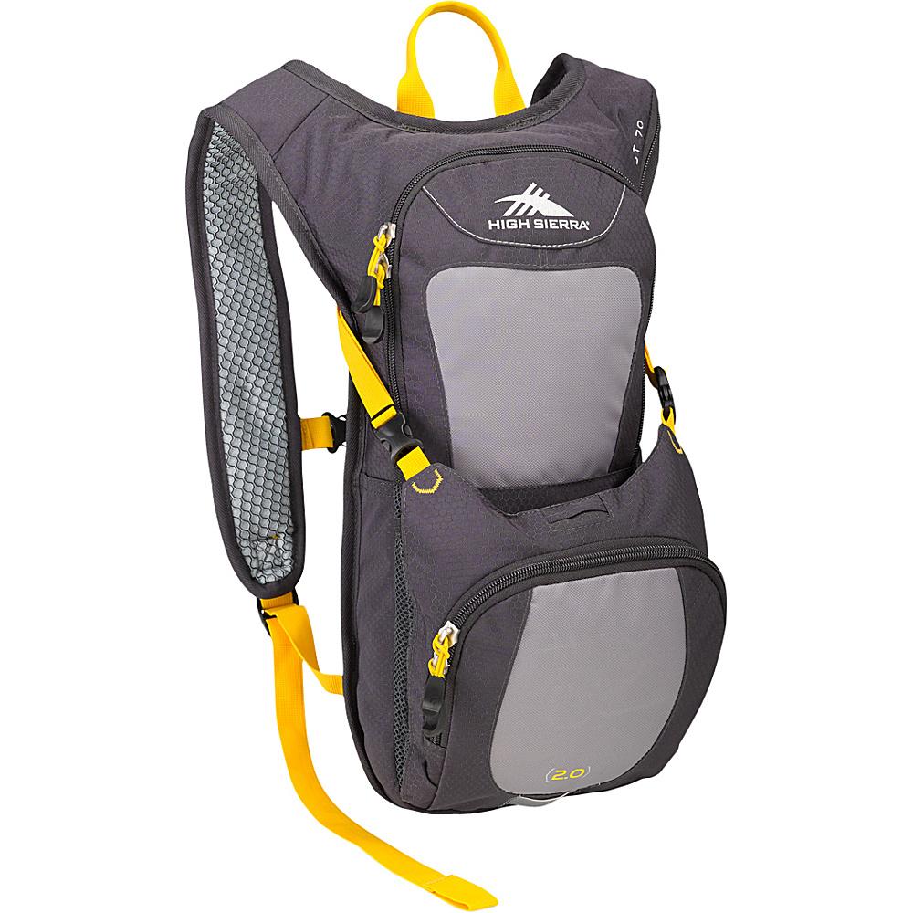 High Sierra Quickshot 70 Hydration Pack Mercury/Ash/Yell-O -