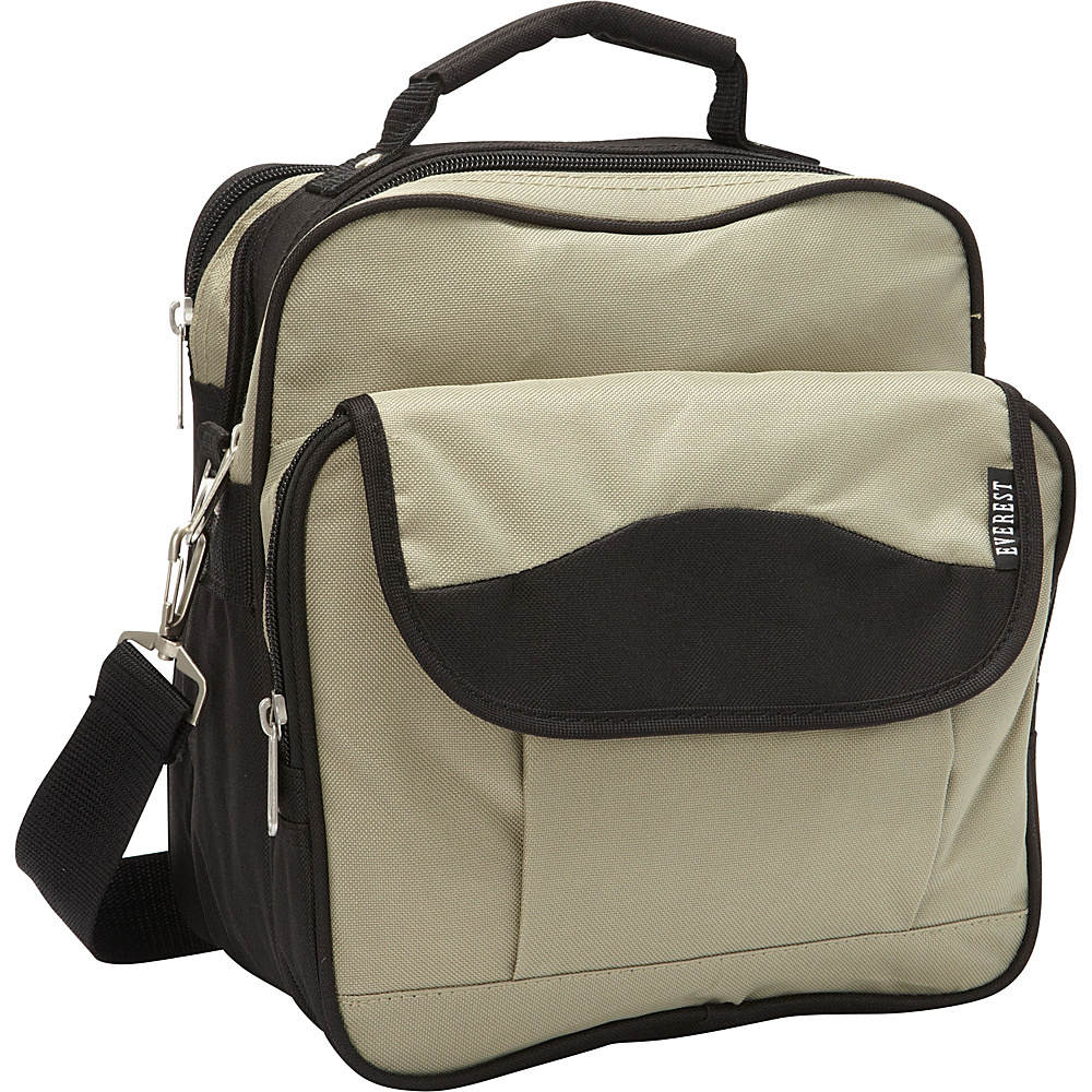 Everest Deluxe Utility Bag Khaki/Black - Everest Men's Bags